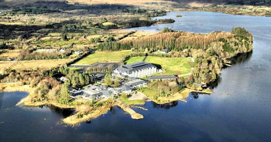 Harvey's Point Donegal Ireland lakeside retreat