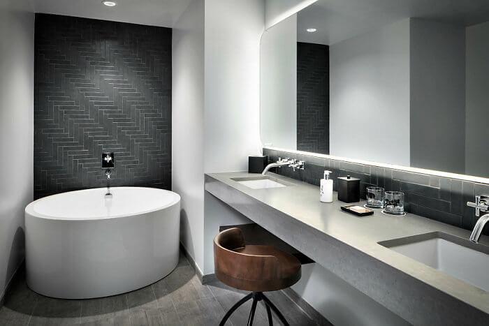Bathrooms! The Maven Hotel, Downtown Denver, Colorado