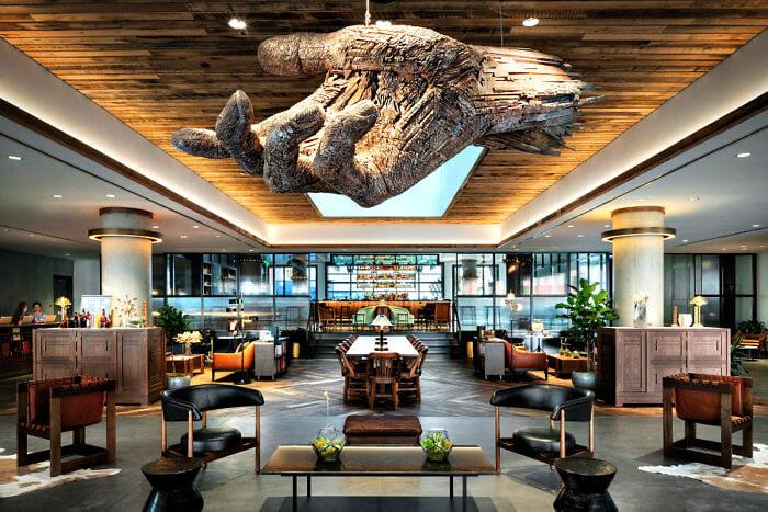 Lobby - The Maven Hotel, Downtown Denver, Colorado