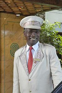 Doorman (Photo courtesy of Nairobi Serena Hotel)