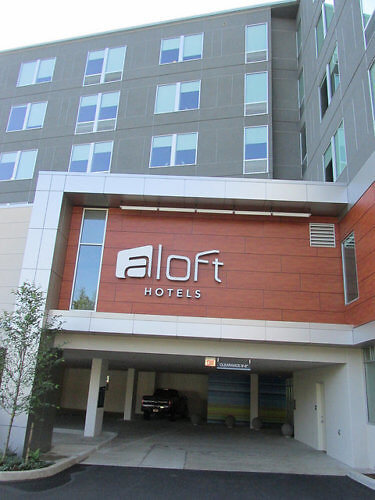 Aloft Hillsboro Beaverton Hotel Complimentary Parking Greater Portland Oregon Boutique