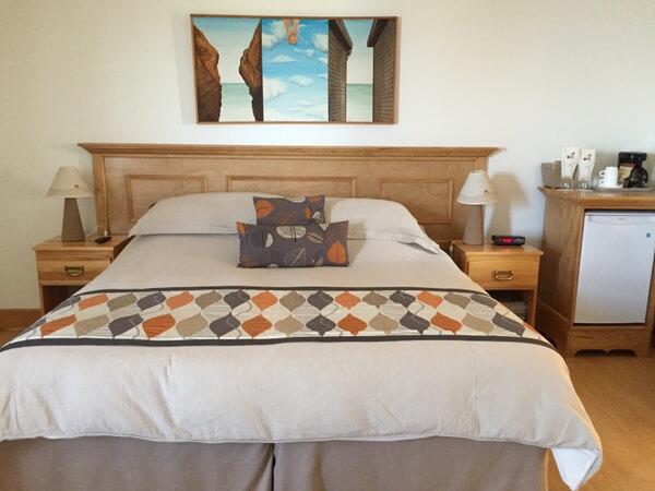 Guest room, Auberge Chez Denis a Francois, Magdalen Islands, Quebec, Canada