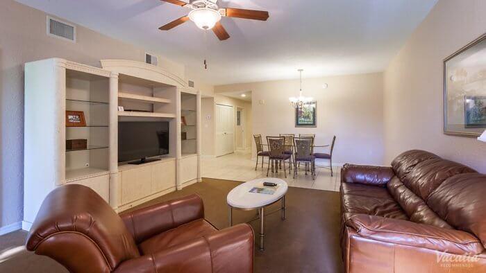 Mystic Dunes Resort 2-bedroom 2-bathroom living room