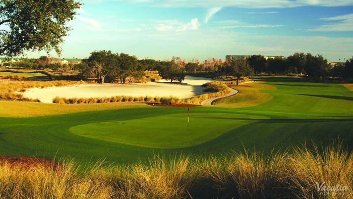 Play golf at the Mystic Dunes Resort, an Orlando Hotel near Walt Disney World.
