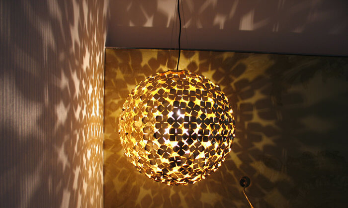Guestroom lighting at the W Hotel, St. Petersburg, Russia (Photo by Susan McKee)