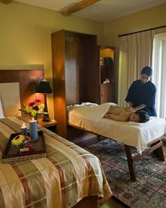 Spa treatments at Galiano Inn, British Columbia