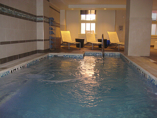 Home2 Suites indoor swimming pool