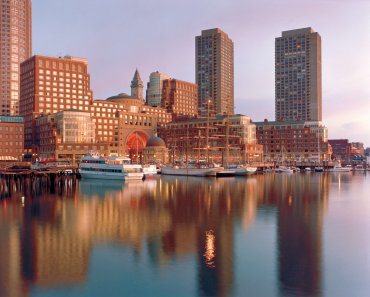 The Boston Harbor Hotel at Rowes Wharf offers both location and luxury, a perfect combination for your stay in Beantown, USA.