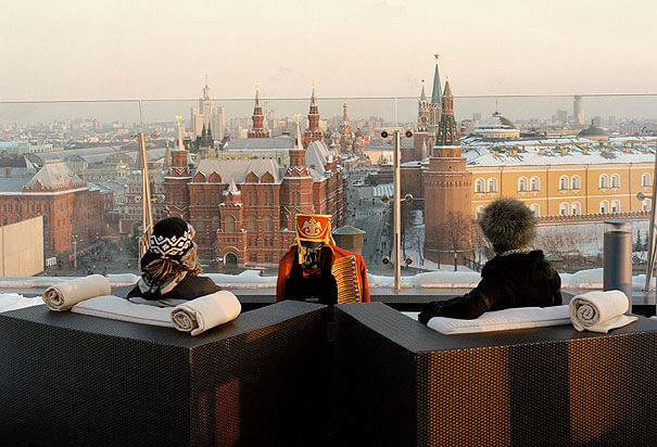 The Best City Views, from the Ritz Carlton, Moscow