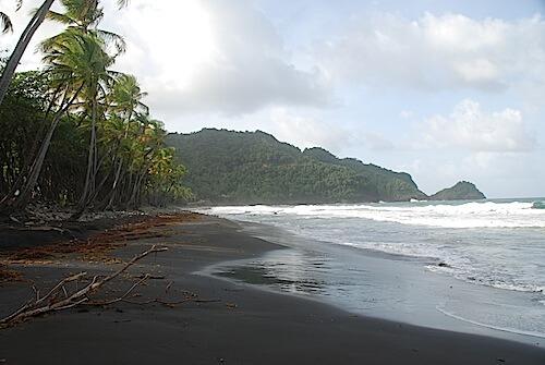Rosalie Bay Resort beach