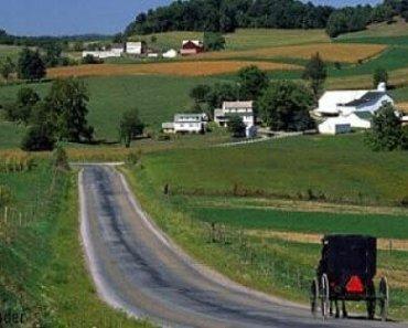 An Amish Buggy Ride at Inn at Honey Run: Millersburg, Ohio