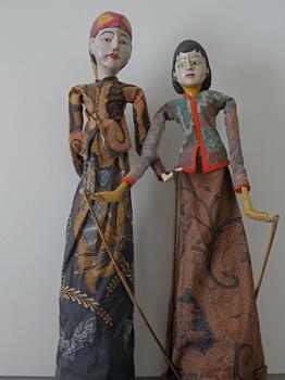 Puppets in the Metterra Hotel, Edmonton, Alberta