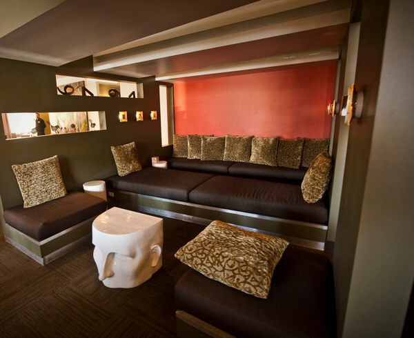 Lounge at Hotel Fifty, Portland, Oregon