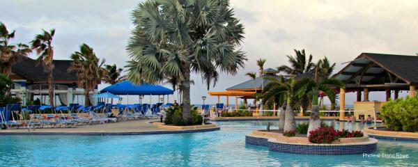 St. Kitts Marriott oceanfront pool