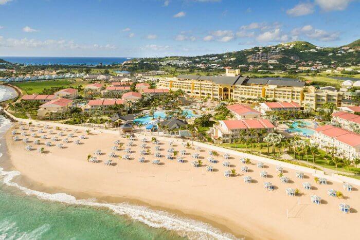 Aerial view Photo: St. Kitts Marriott Resort
