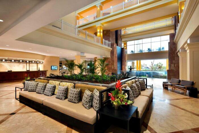 Lobby of St. Kitts Marriott Resort