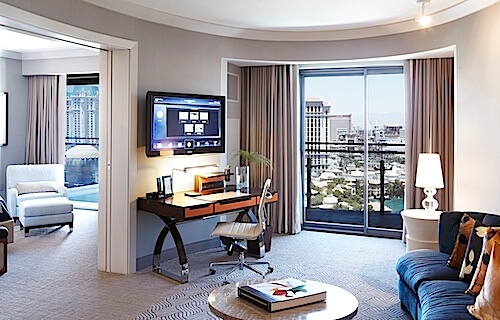 Cosmo 2 Bedroom City Suite modern glam at the cosmopolitan of las vegas