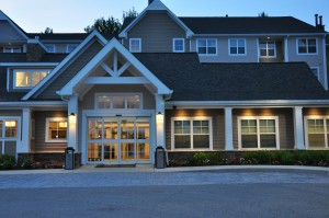 Exterior of the Residence Inn North Conway