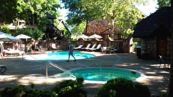 Pool at Harvest Inn in Napa Valley