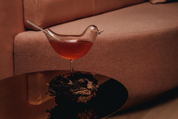 Pretty Bird Cocktail, Botanist, Fairmont Pacific Rim Hotel, Vancouver BC Canada