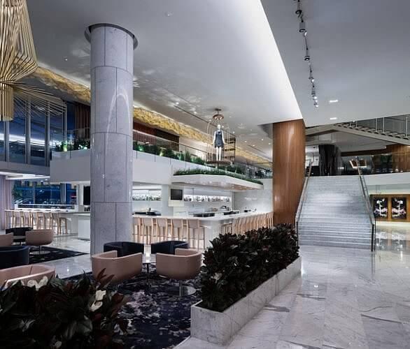 Lobby Lounge, Fairmont Pacific Rim Hotel, Vancouver BC Canada