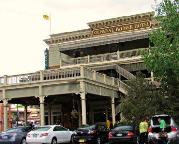 Historic General Palmer Hotel in downtown Durango, Colorado