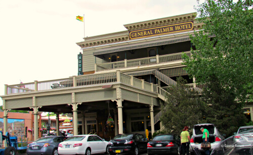 Historic General Palmer Hotel in downtown Durango, Colorado