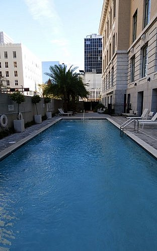 Le Meridien Tampa downtown hotel in Florida