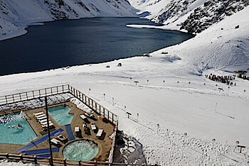 Ski Portillo pools