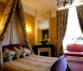 Luxury Rooms at a Historic Chateau in France's Loire Valley