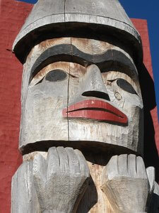 Totem Pole at Squamish Lil'wat Cultural Centre, Whistler, IMG_5854