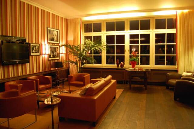 The lounge at the Wald and Schlosshotel Friedrichsruhe