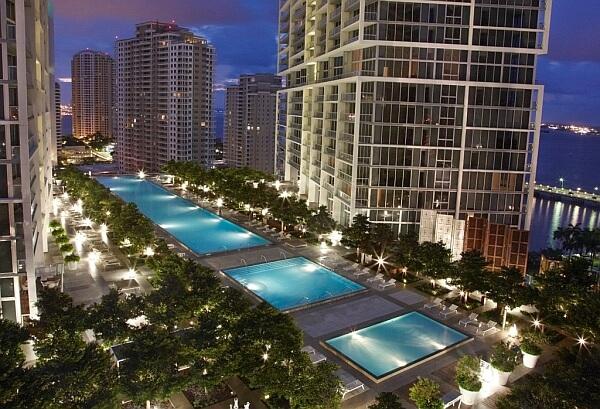 W Miami Hotel downtown