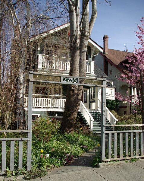 Corkscrew Inn exterior, Vancouver, British Columbia, Canada