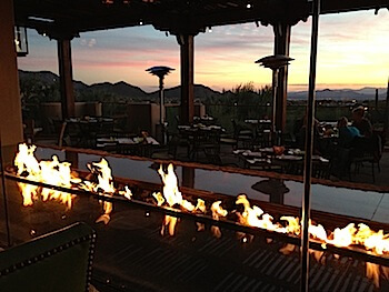 Four Seasons Scottsdale patio