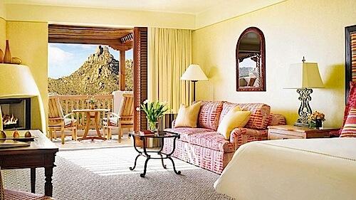 Four Seasons Scottsdale room view