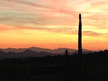 Four Seasons Scottsdale sunset