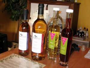 Damali wines and vinegars, Cowichan Valley, British Columbia, Canada