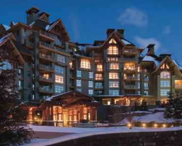 Four Seasons Whistler resort in BC