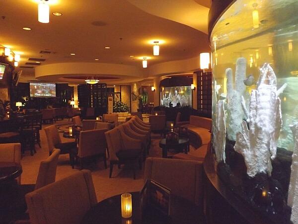 Florida resort lounge