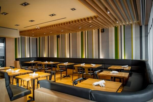 Forage dining room, Listel Hotel, Vancouver, British Columbia, Canada