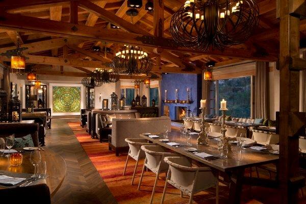 Veladora Restaurant, Rancho Valencia, San Diego, California