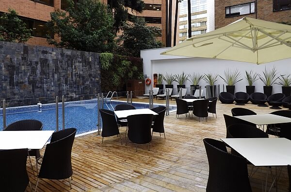 Downtown Bogota business hotel