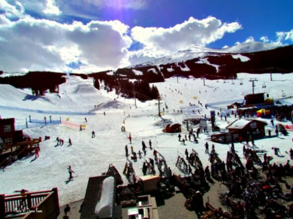 One Ski Hill Place is located at the base of Breckenridge's Peak 8.