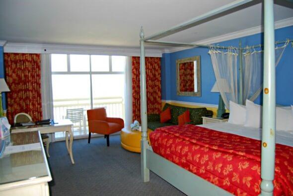 Accommodations at Shores Resort & Spa, Daytona Beach, Florida