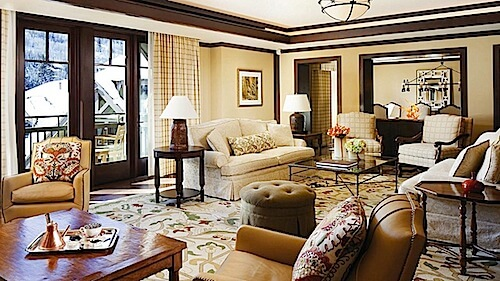 Four Seasons Vail suite