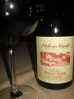 """Holman Ranch Estate Pinot Noir"""