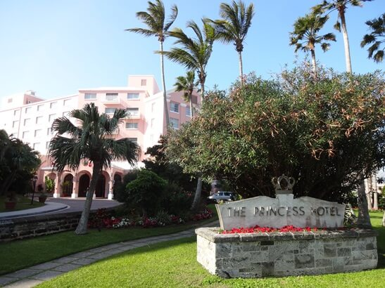 The Fairmont Hamilton Princess Hotel in Hamilton, Bermuda