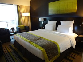 Executive Suite at Pullman Hotel in Dubai