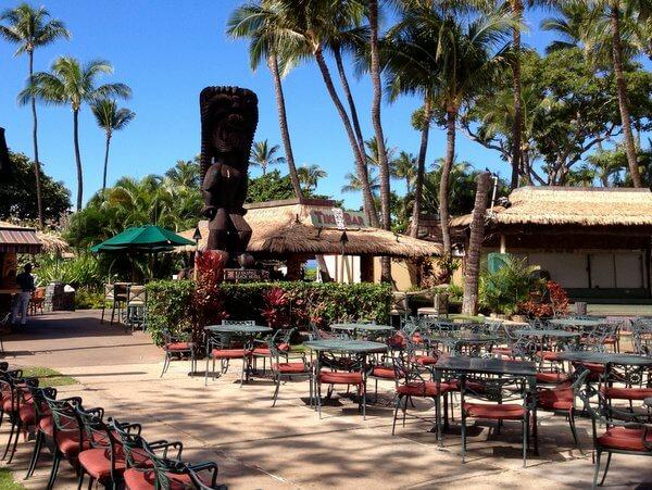 Tiki bar, Ka'anapali Beach Hotel, Maui